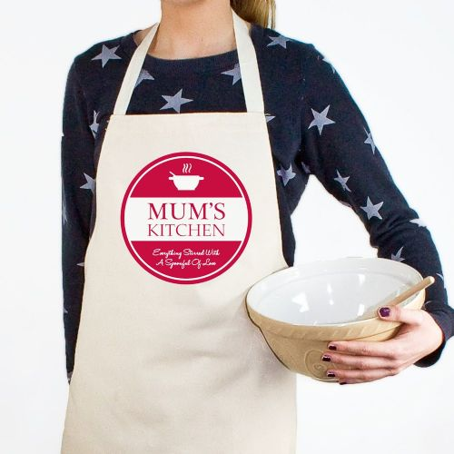 Everything Stirred with Love Apron (choice of colour)